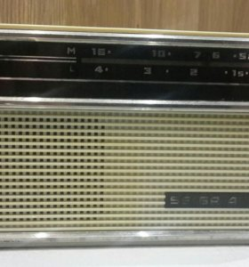 Радио приемник SELGA-402.   Раритет 1970год