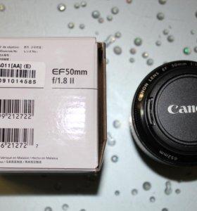 Canon EF 50 mm / 1,8 II