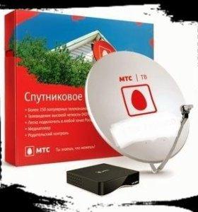 Спутниковое телевидение и интернет от МТС