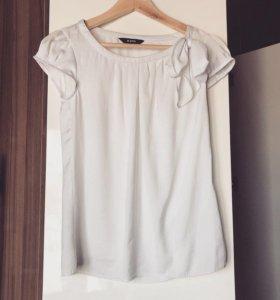 Белая легкая блуза 🐚