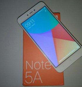 Xiaomi Redmi Note 5A (2/16, Gold), новый