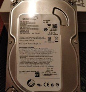 Жёсткий диск 500гб