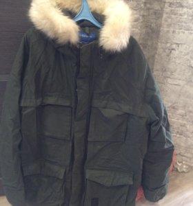 Зимний мужской пуховик Adidas