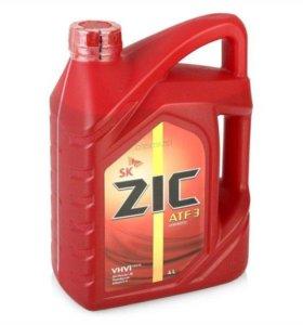 Трансмиссионное масло ZIC ATF 3, 4л.
