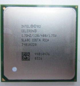 Процессор Intel Celeron 1.7 GHz Socket 478