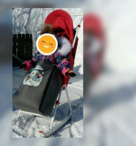 Санки за апельсины;)