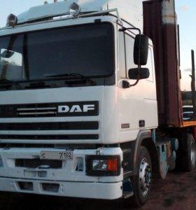 Сцепка DAF 95ati 93г. в. 330 л. со площадкой или..