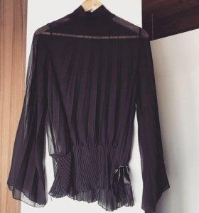 Вечерняя плиссированная блуза 💔