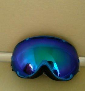 Новые очки для сноуборда горных лыж