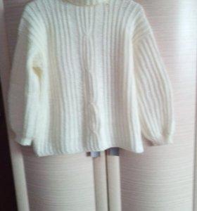 Женская кофта, с жилетом