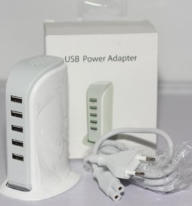 Сетевой разветвитель на 5 USB портов
