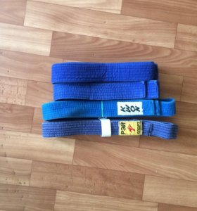 Пояса для дзюдо синие