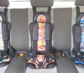 Авто кресла бескаркасные