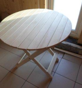 Столик для бани складной