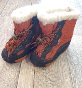 Демары и ботинки нубук 24 р