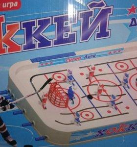 Настольный хоккей с 3D игроками