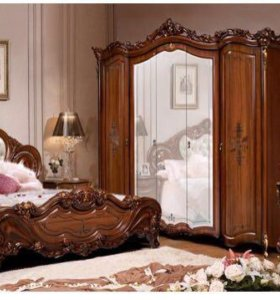 Спальный гарнитур Элиза Орех в упаковке