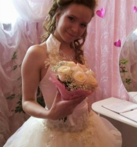 Платье свадебное р42-44