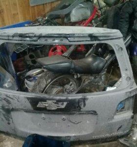 TrailBlazer крышка багажника шевроле блэйзер