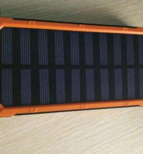 Powerbank c солнечной батареей ёмкость 20 000 mAh
