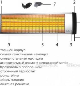 Обогреватель инфракрасный Ballu BIH-L-3.0