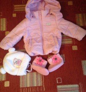 Куртка-Шапочка-угги+ подарок 🎁