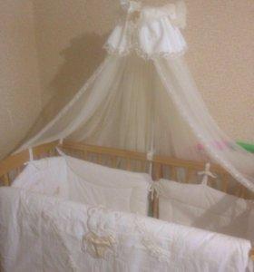 Набор в детскую кроватку 🍼🍼🍼