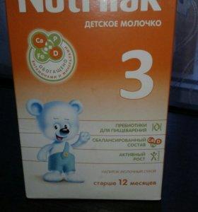 Детское молочко Nutrilak 3