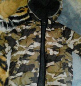 Куртка на мальчика от 5до 6 лет