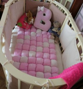 Кроватка трансформер Incanto Gio 3 в 1