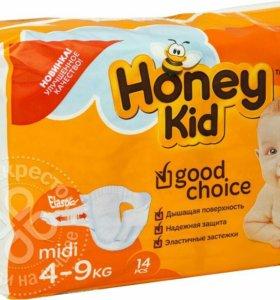 Подгузники Honey Kid