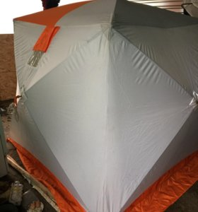 Палатка зимняя Куб 185*185 б/у двух слойная