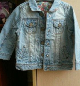 Джинсовая курточка 92 р