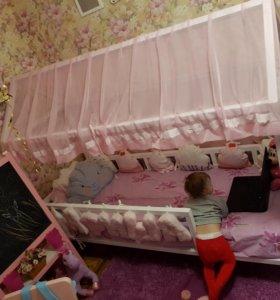 Кроватка детская ! Домик)