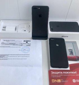 Идеальный iPhone 7 Plus 32Гб -гарантия и страховка