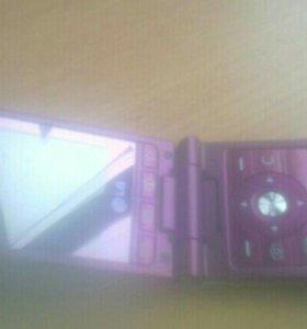 Мобильный телефон раскладушка LG