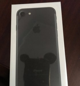 Iphone 7 32 gb black новый!