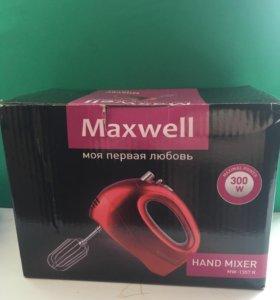 миксер maxwell новый mw-1357 R