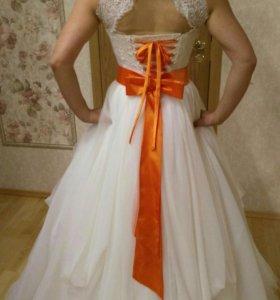 Свадебное платье для беременой