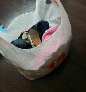 Детские вещи пакетом до года