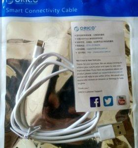 USB кабель для iPhone5/6/6Plus Lightning 8-