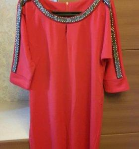 Платье с бисером новое с этикеткой