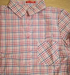 Блузка с коротки рукавом