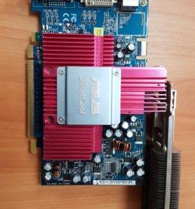 Видеокарта asus 6600gt 256 mb с радиатором