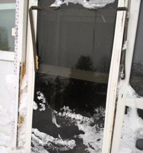 окно пвх тонированное