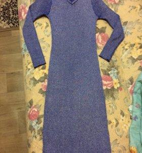 Очень красивое платье лапша с люрексом