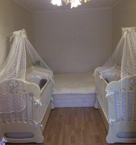 Квартира, 2 комнаты, 45.5 м²