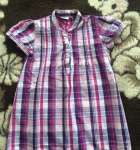 Хлопковая летняя рубашка