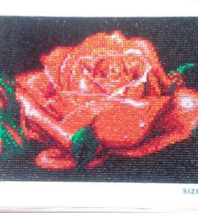 Алмазная роза