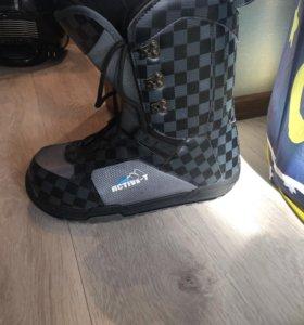 Сноубордические ботинки 45р